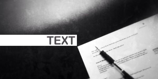 Portfolio Christian Reimer - Text für Ihr Projekt: rasch, treffsicher, briefing-treu